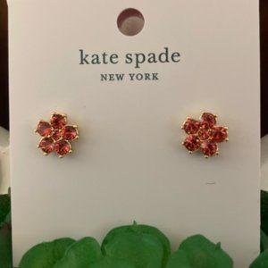 Kate Spade Coral Flower Stud Earrings 🌺🌸🌺